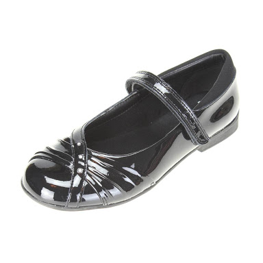 clarks girls school shoes Silver