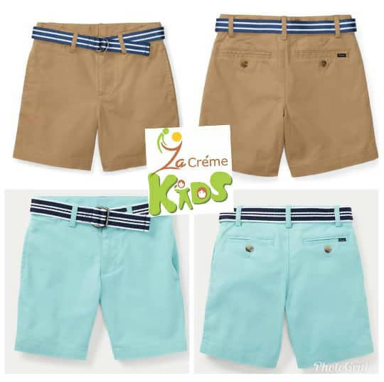 Lauren For Ralph Short Chinos Polo Boys k8nwOX0P